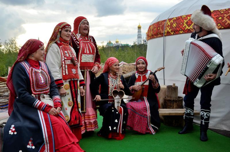 Артисты из Республики Башкортостан выступили на концерте в парке «Зарядье»