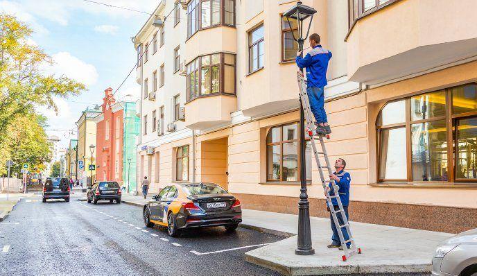 Уникальные фонари установили в «Театральной квартале». Фото: сайт мэра Москвы
