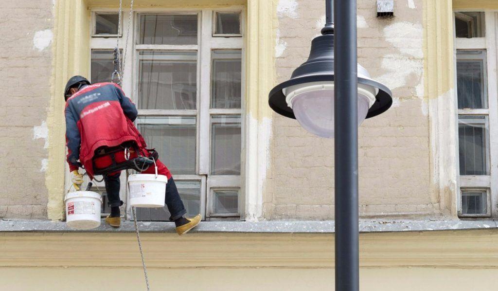 Работы по капитальному ремонту административного здания в Озерковском переулке подходят к концу. Фото: сайт мэра Москвы