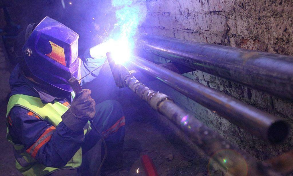 Капитальный ремонт отдела МВД в Басманном районе завершили наполовину. Фото: сайт мэра Москвы