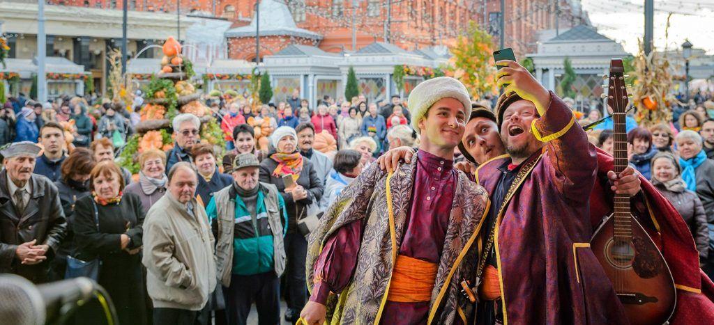 Фестиваль «Золотая осень» стартовал в центре Москвы