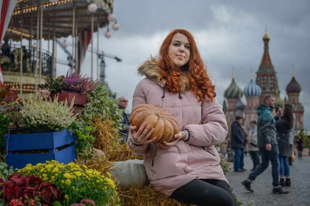 Осенний фестиваль: золото на красном