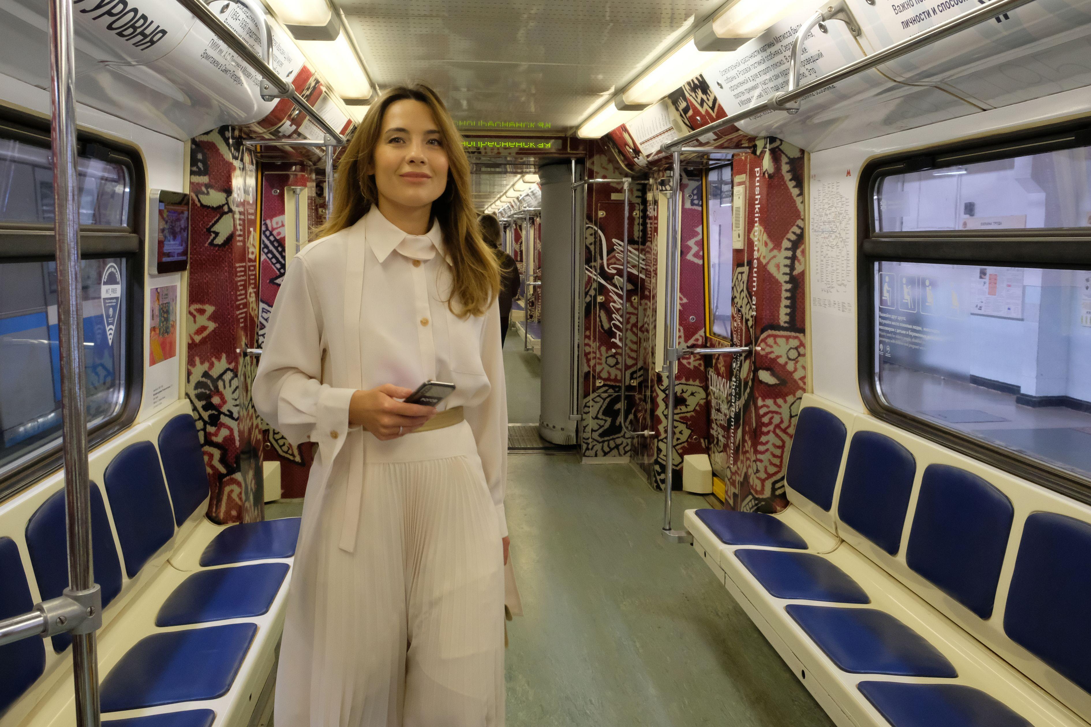 Москвичам рассказали о создании тематических поездов метро.Фото: архив, «Вечерняя Москва»