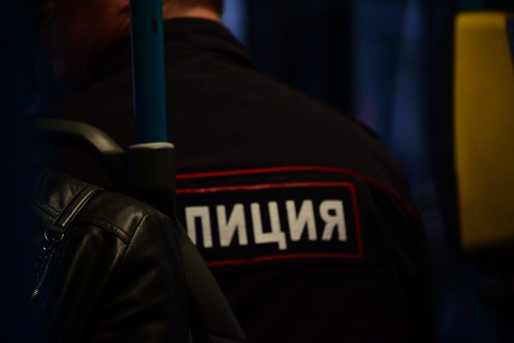 Оперативники УВД по ЦАО задержали подозреваемого в краже