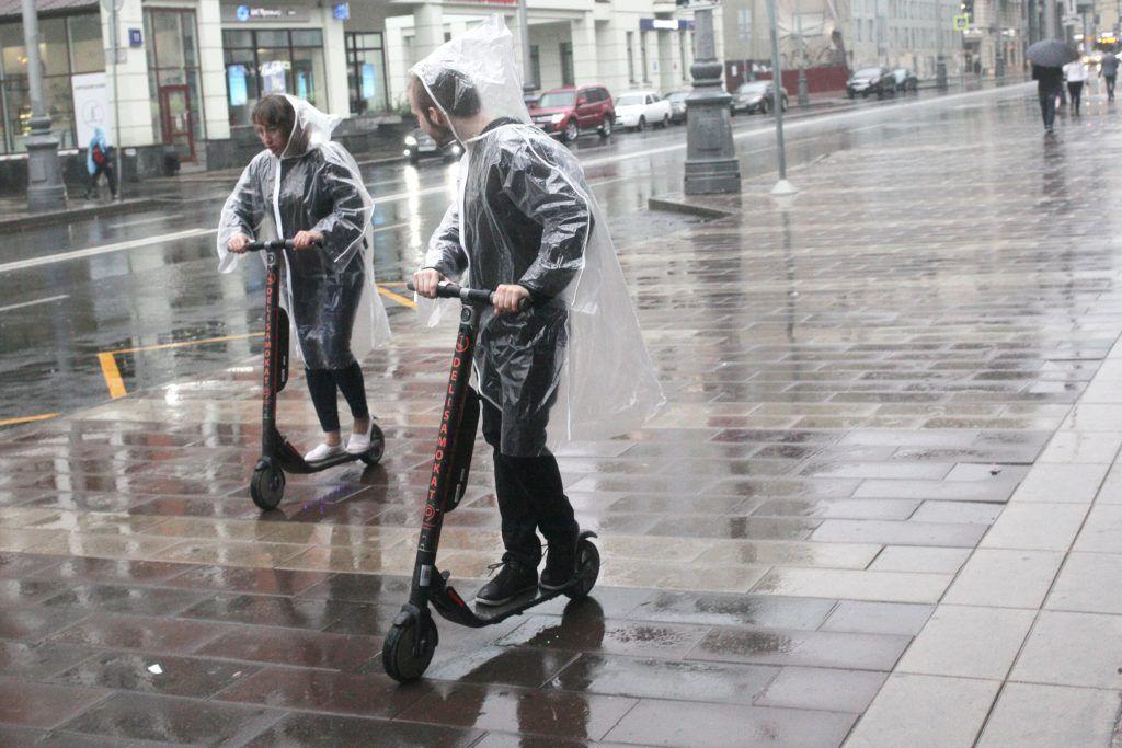 Москва приняла месячную норму осадков до конца месяца