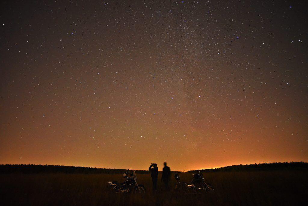 Москвичи увидят звездопад 9 октября
