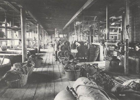Цех по производству тканей, XIX век. Фото:пресс-служба ТГМ