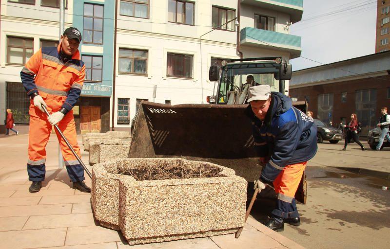 Работы по благоустройству проведут в районе Хамовники. Фото: Наталия Нечаева, «Вечерняя Москва»