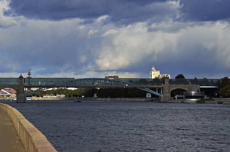 Облачная погода ожидается в субботу в Москве