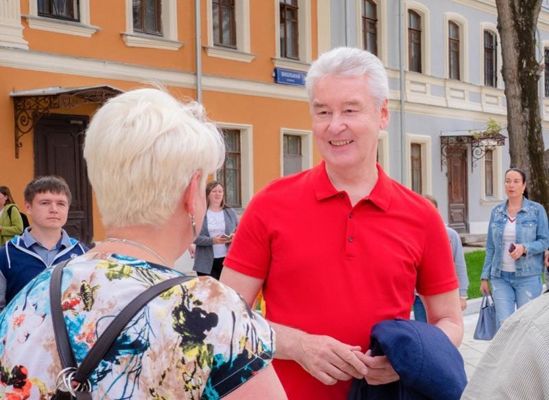 Собянин пригласил москвичей на фестиваль «Золотая осень»