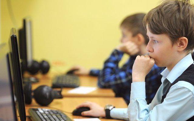Более 900 тыс москвичей проверяли оценки детей в МЭШ в сентябре. Фото: сайт мэра Москвы