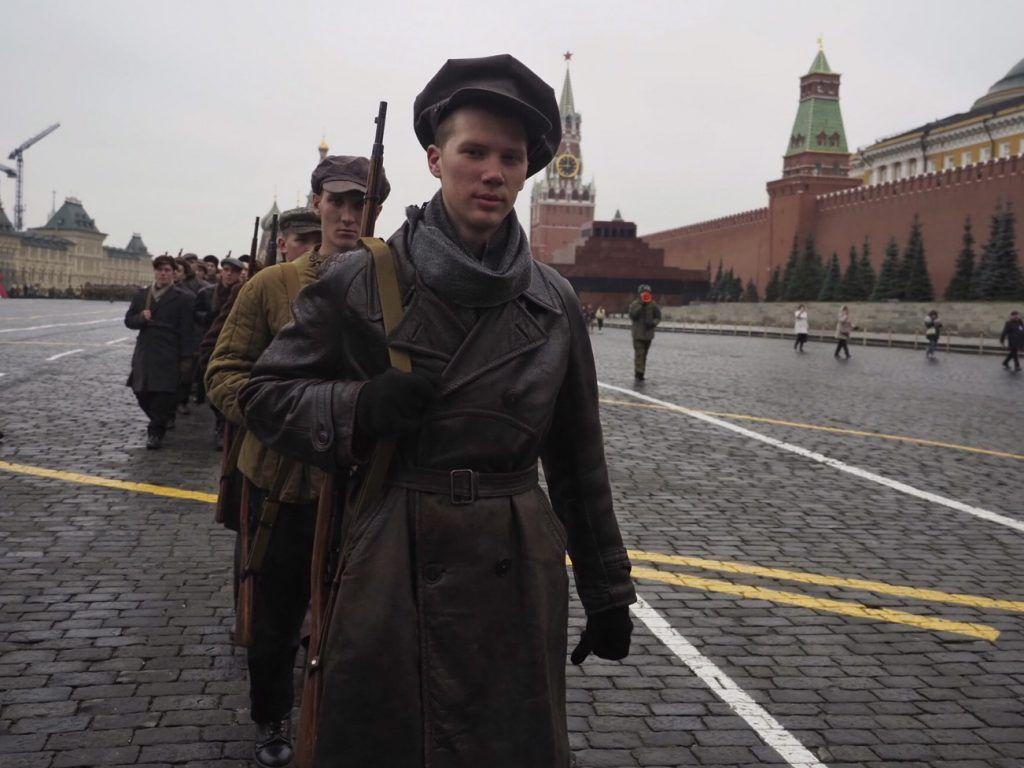 Фотофакт: репетиция торжественного марша на Красной площади
