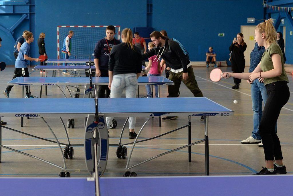 Соревнование по настольному теннису состоится в Плехановском университете
