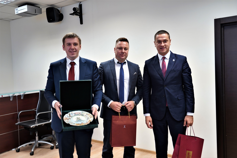 Встречу с делегацией из Латвии провели в Префектуре Центрального округа. Фото: Денис Кондратьев
