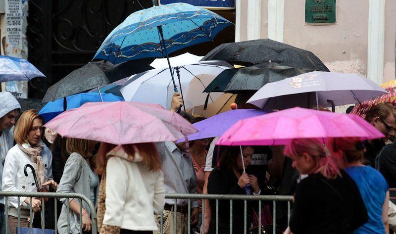 Температура в Москве начнет падать со среды