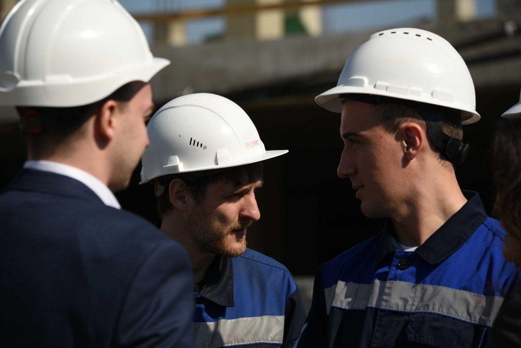 Строительство волейбольной арены «Динамо» в Москве вышло на «финишную прямую»