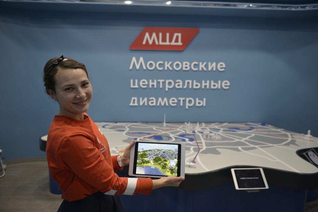 Карту России повесят в выставочном павильоне МЦД