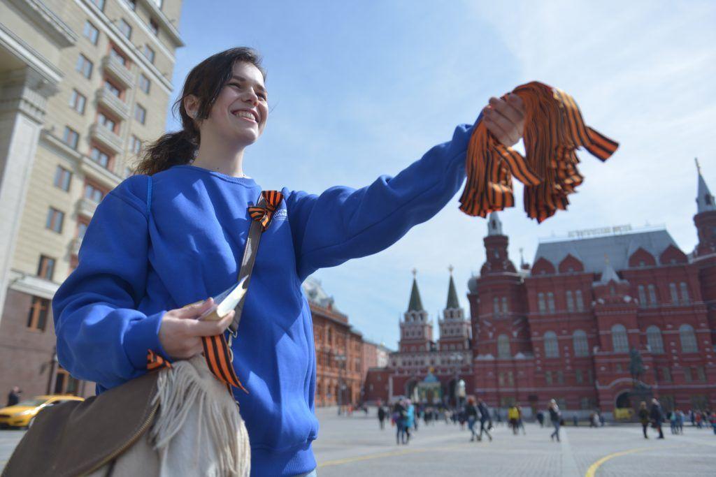 Более 30 тысяч волонтеров помогут организовать юбилей Победы в Москве