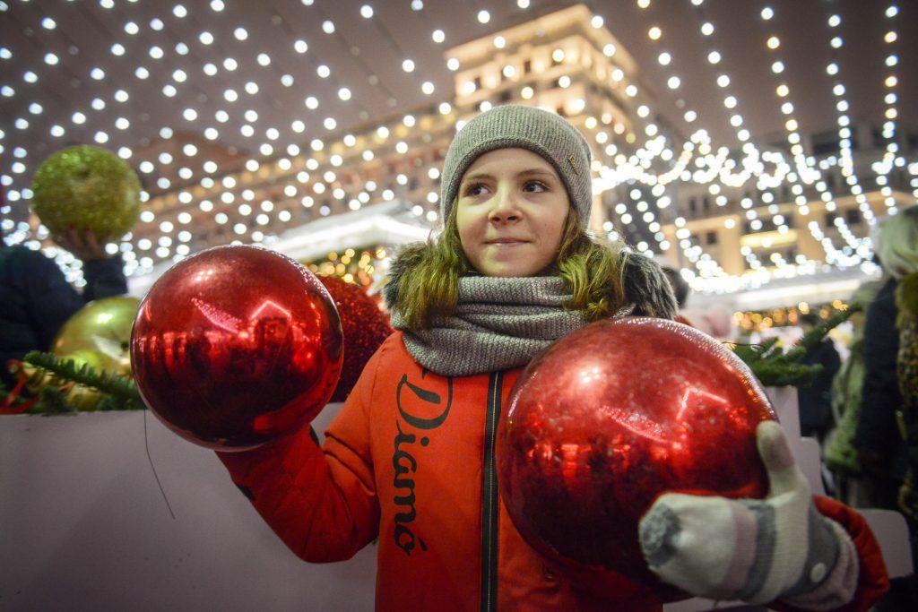 Центр Москвы оформят в честь Нового года к 16 декабря