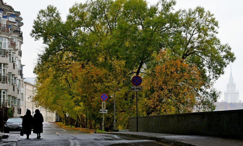 Москвичей ожидают пасмурные выходные дни
