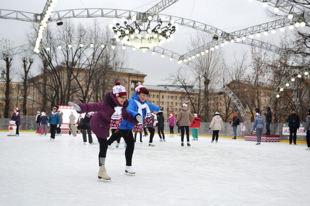 Долголеты выходят на лед: новое направление открыли в проекте