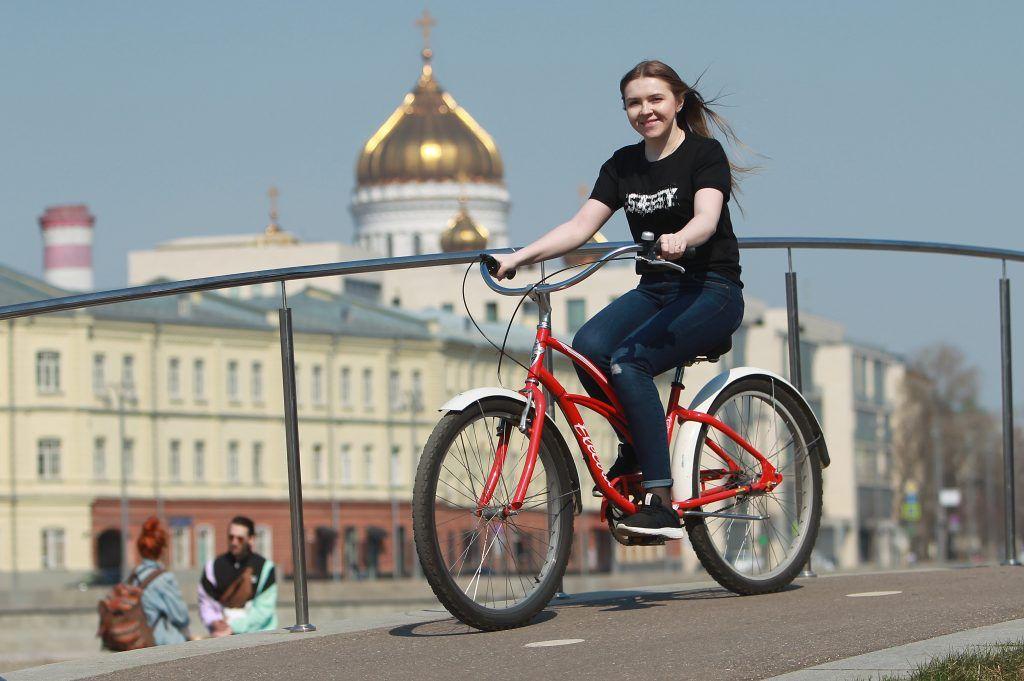 Жители Хамовников и Тверского района стали самыми активными пользователями велопроката