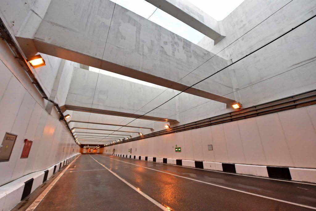 Бетонирование тоннеля в районе метро «Саларьево» завершили на западе Москвы
