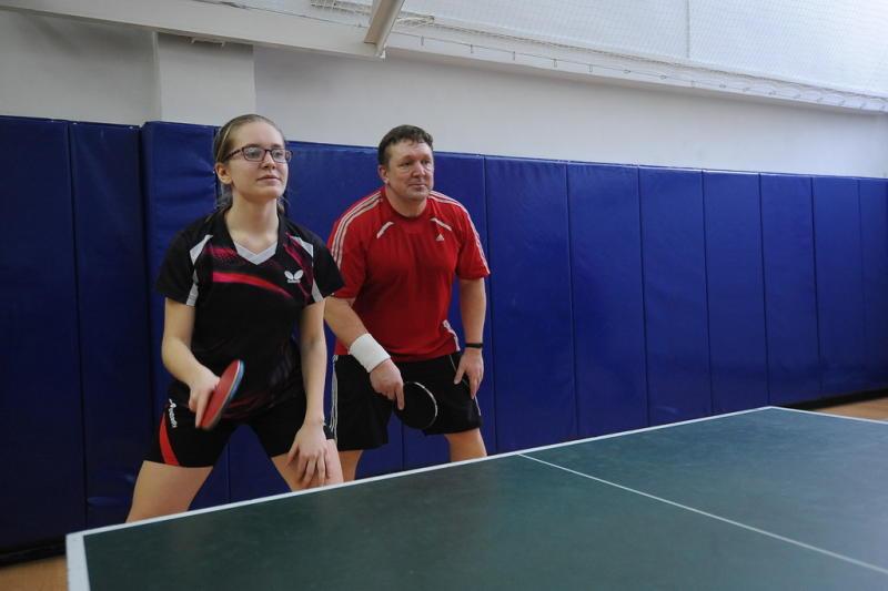 Соревнования по настольному теннису проведут в Мещанском районе