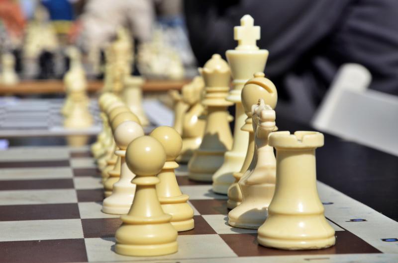 Международный шахматный турнир состоялся в клубе «Октябрьский». Фото: Анна Быкова
