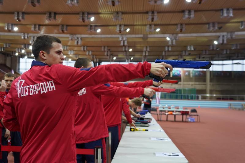 Турнир по лазер-рану прошел в легкоатлетическо-футбольном комплексе ЦСКА