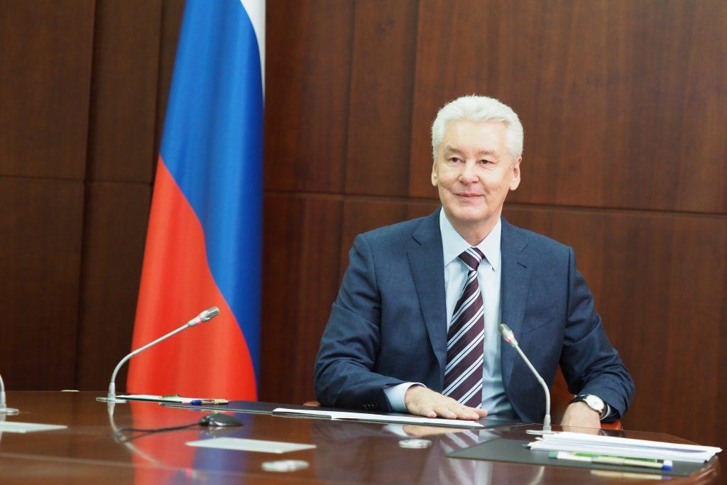 Сергей Собянин провел прием москвичей и рассказал о будущем Миусского сквера