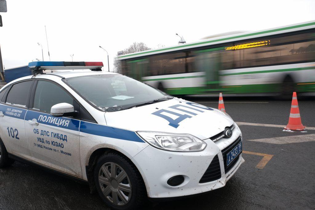 В центре Москвы полицейские выявили факт нарушения миграционного законодательства
