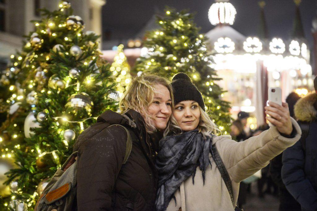Москву украсили к Новому году
