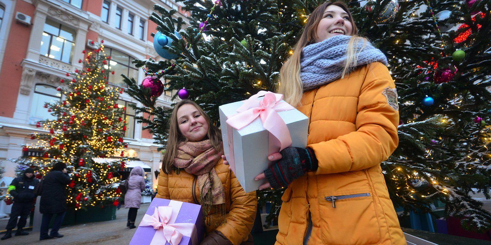 Москвичи выберут программу празднования Нового года в парках. Фото: официальный сайт мэра Москвы