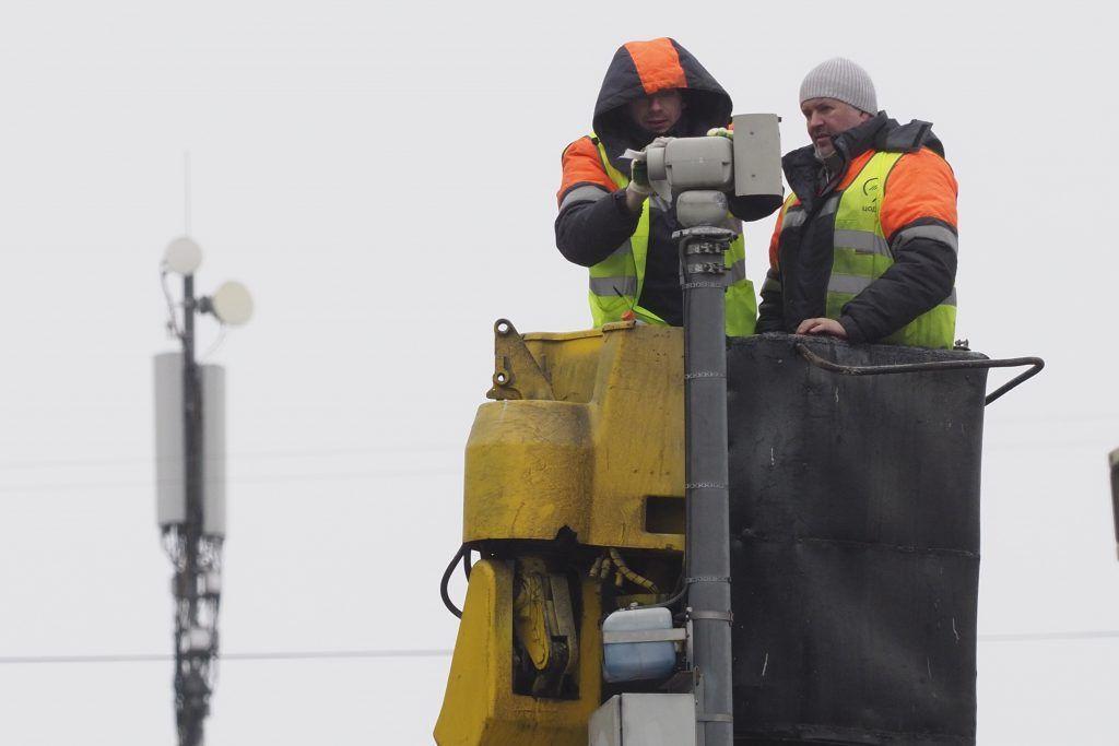 Еще 34 дорожные камеры установили в Москве