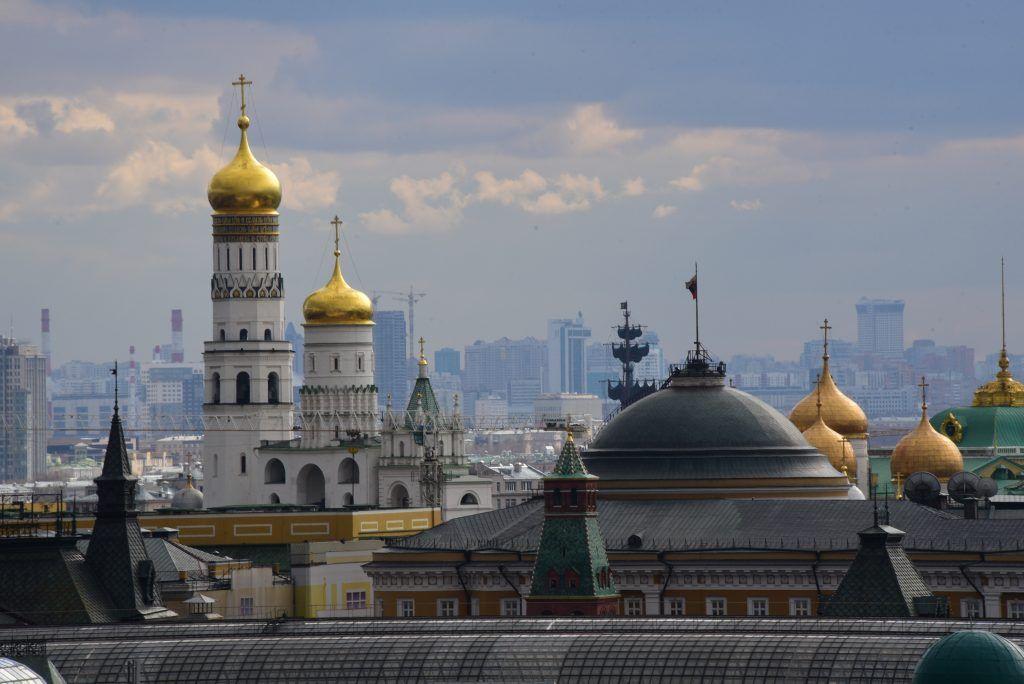 На московских улицах похолодает до нуля в пятницу