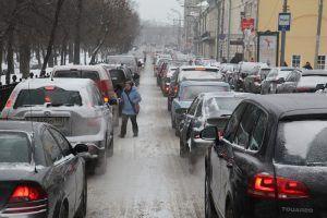 Лучше воспользоваться метро. Фото: Петр Болховитинов