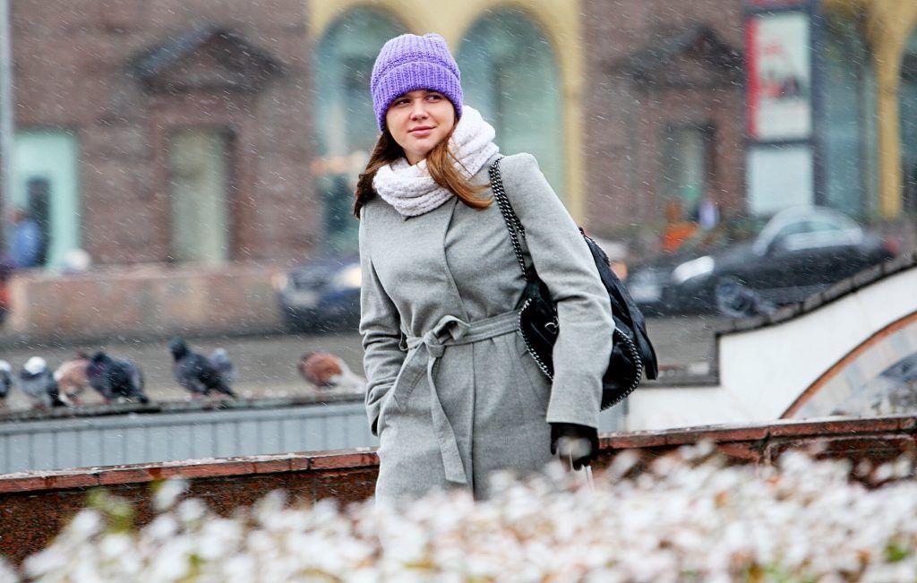 Первый снежный покров Москвы лег до 5 декабря