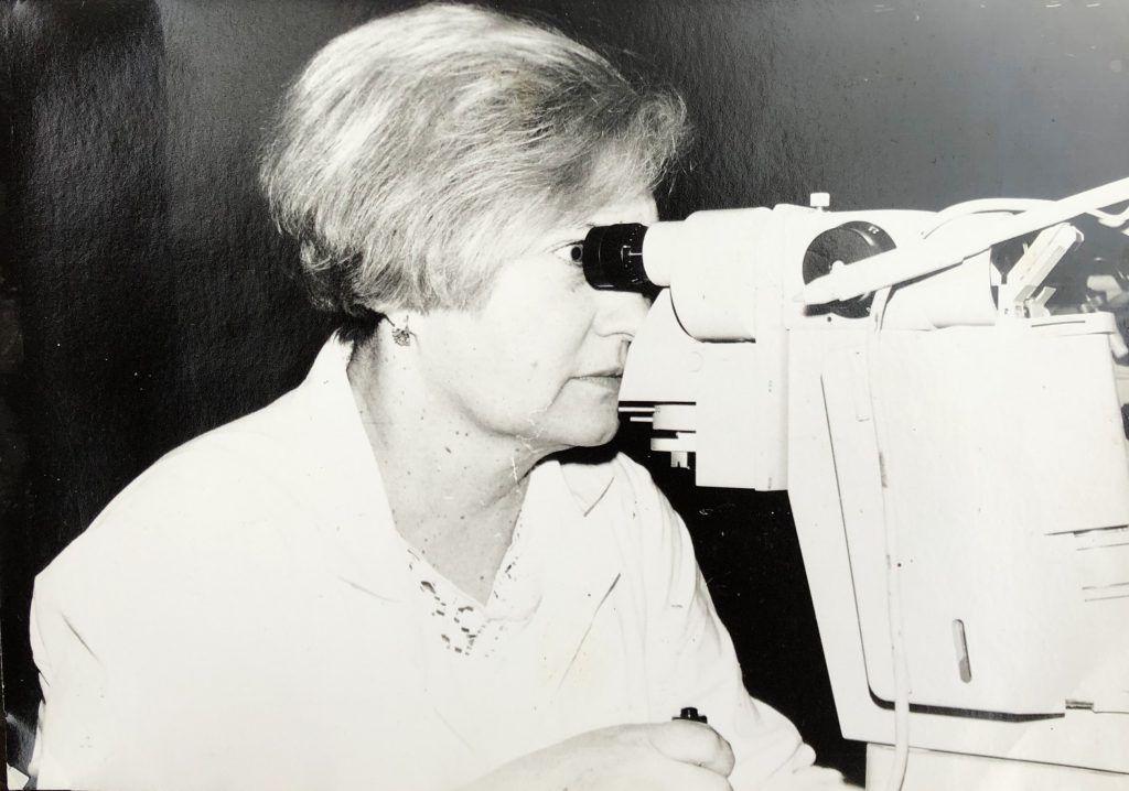 Ирина Шамотко проработала окулистом больше 20 лет. Фото из личного архива