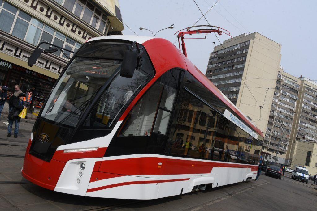 Несколько трамвайных маршрутов запустили после ремонта