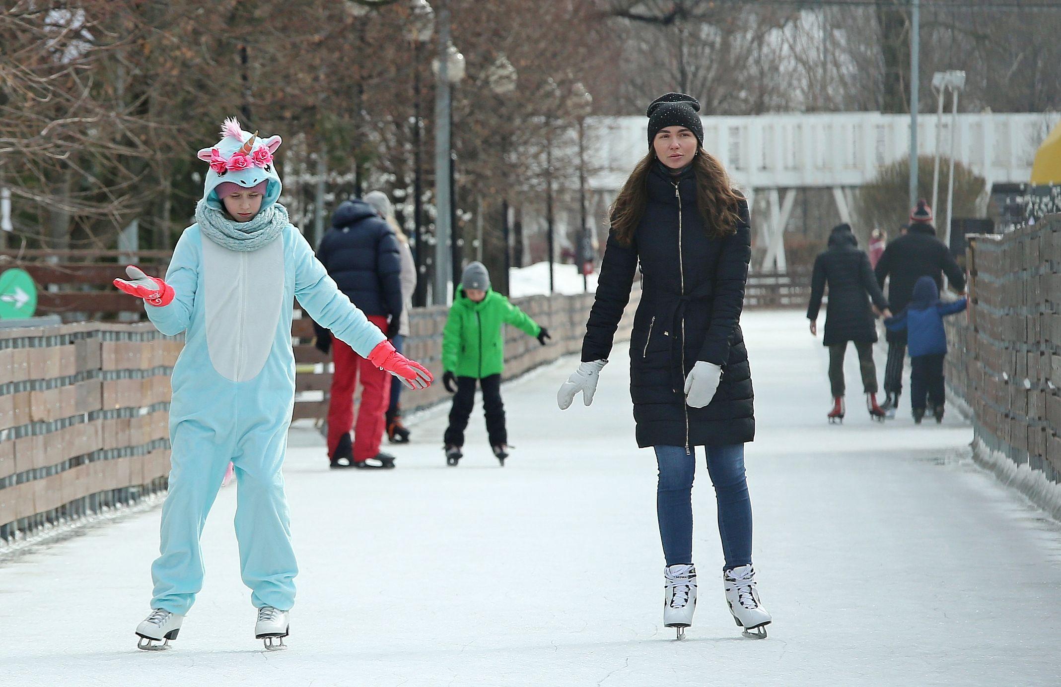 Москвичей ожидает похолодание в первый зимний день.Фото: архив, «Вечерняя Москва»