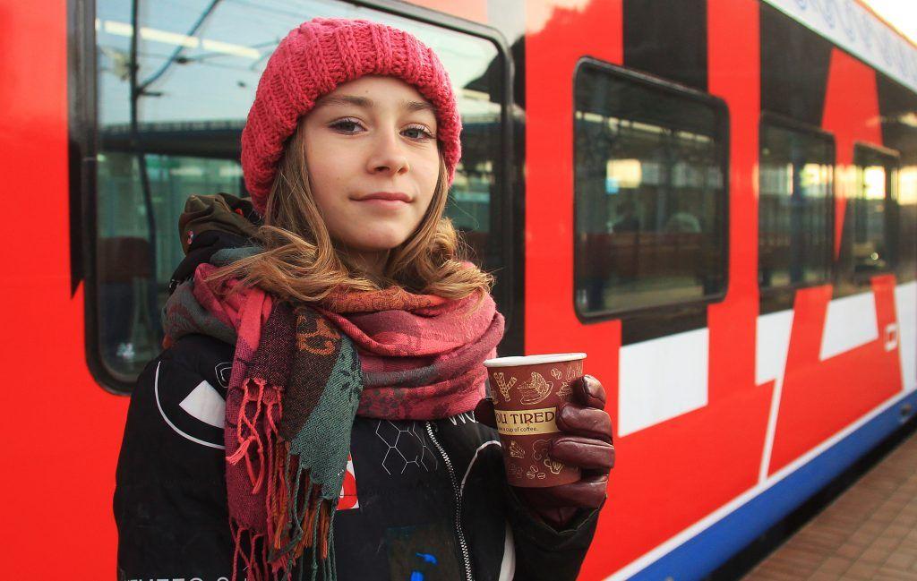 Поезда МЦД получили две тысячи специальных стикеров