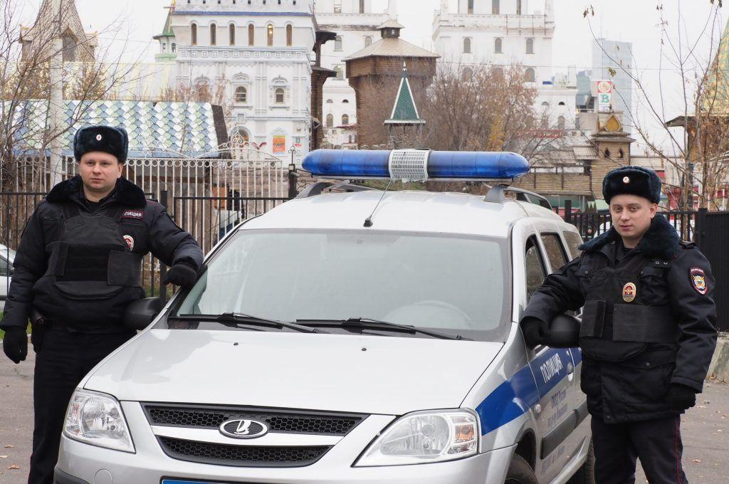В центре Москвы полицейские задержали подозреваемого в причинении тяжкого вреда здоровью