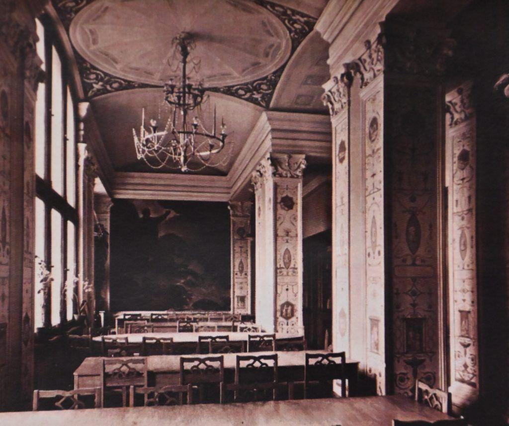Библиотека №3 имени Н.А. Добролюбова в 1950-е годы. Фото из личного архива