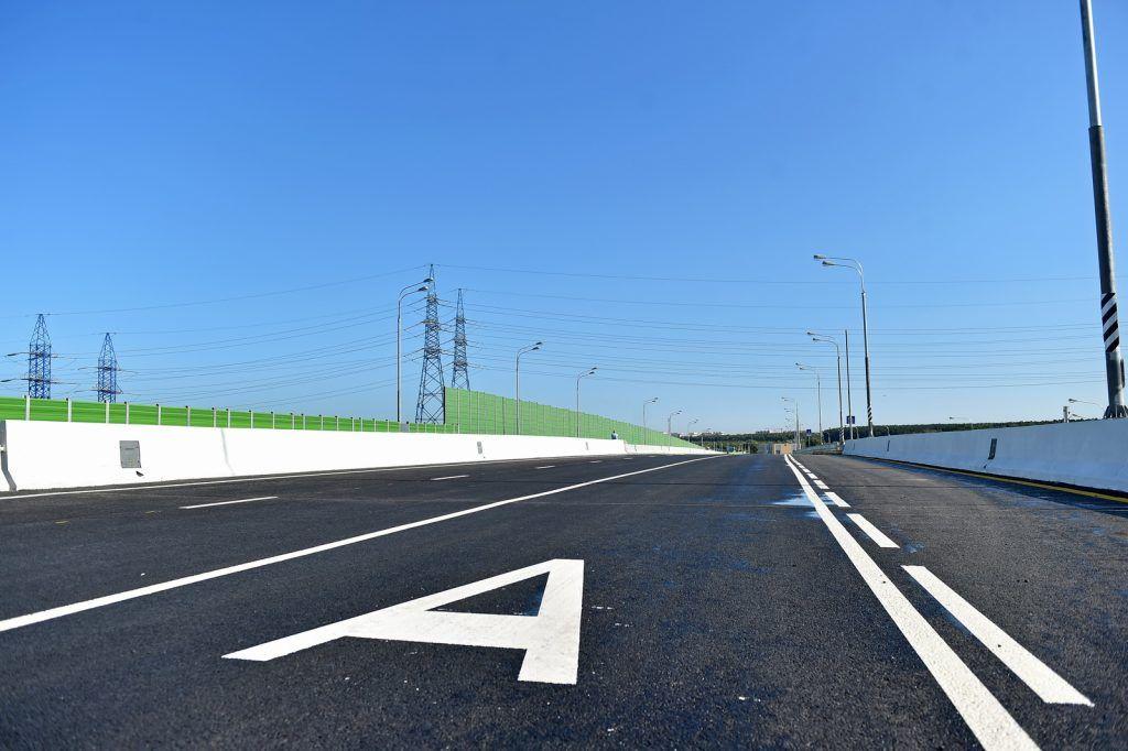 Москвы превысила план по вводу новых дорог в 2019 году
