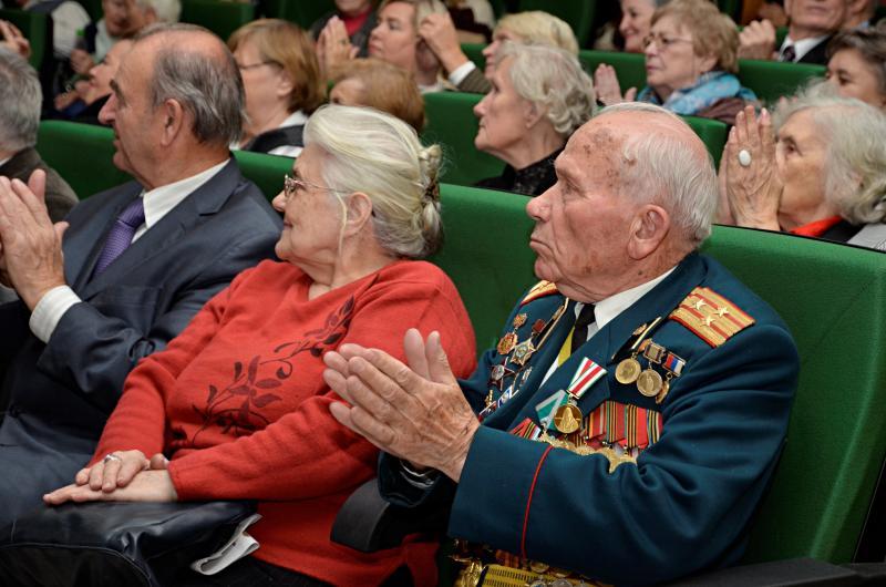 Собрание с ветеранами состоится в районе Арбат