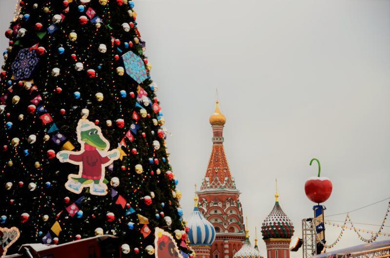 Новый год в Центральном округе: катки, горки и праздничная программа