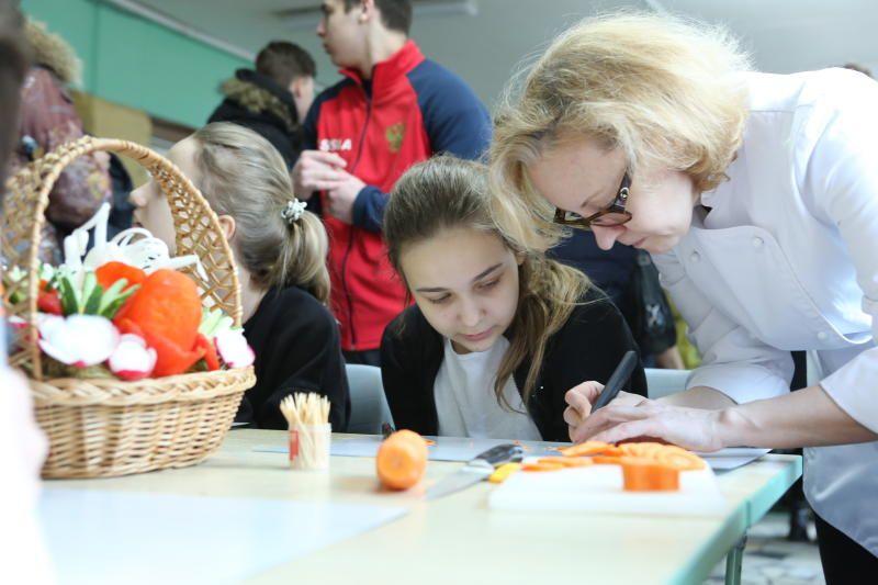 Экологическая неделя началась в школе №1259
