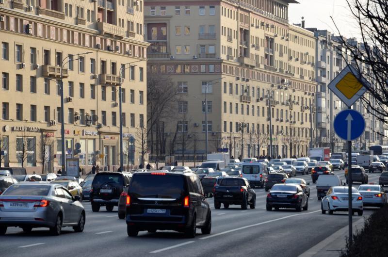 Аварийность в столице снижена на 23% за счет использования дорожных камер
