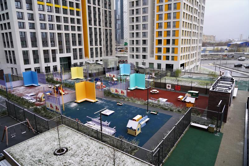 Жители двух пятиэтажных домов Пресненского района переедут в новостройку